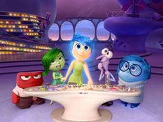 How Pixar worked emotions 'Inside Out'