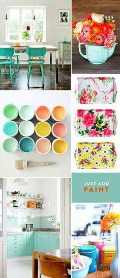 Some great inspiration for spring/summer color combos
