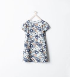 ZARA - KIDS - FLORAL PRINT DRESS