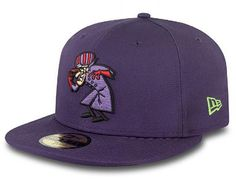 Do you root for the bad guy? Fitted Baseball Caps, Fitted Caps, Baseball Hats, Hanna Barbera, Stylish Caps, New Era Fitted, New Era Hats, New Era 59fifty, Cool Hats