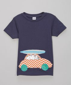 Navy Classic Surf Tee - Infant, Toddler & Boys by little bits #zulily #zulilyfinds
