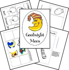 "Free Before Five in a Row Resources - pages for books such as ""Good night Moon"""