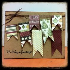 All About Scrapbooks - Your favourite supplier of scrapbooking materials, scrapbook paper, tools, products, etc. in Woodstock Ontario since 2003 Christmas Cards To Make, Handmade Christmas, Holiday Cards, Stampin Up, Paper Crafts, Diy Crafts, Christmas Scrapbook, Winter Cards, Card Tags