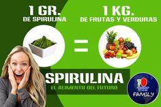 DXN, Cultiva, procesa y Comercializa, la mejor y mas pura spirulina del mercado.  Adquiéralos en presentaciones de comprimidos, y en cereales, ideal para el consumo de toda la familia.