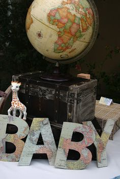 Little Big Company | The Blog: Around the World Themed Baby Shower by Sweet Pop Studio