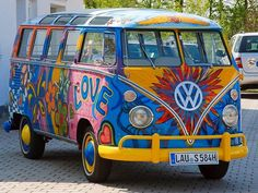 VW Samba bus hippie (Lisboa,Portugal)