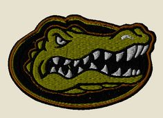 Florida Gators tactical sports patch and custom VELCRO® Brand patch - show your team support! Tactical Patches, Tactical Gear, Funny Patches, Velcro Patches, Morale Patch, Florida Gators, Superhero Logos, Survival, Sports
