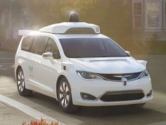 The self-driving version of the Chrysler Pacifica hybrid