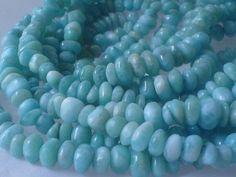 Dominican larimar beads