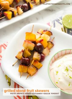 Fruit on the Grill on Pinterest   Grilled Peaches, Grilled Fruit and ...