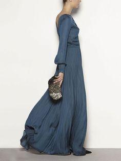 Fluid Chiffon Maxi Dress by Hoss Intropia Chiffon Maxi Dress, Dress Skirt, Dress Up, Looks Chic, Looks Style, Party Fashion, Love Fashion, Fashion Design, Casual Dresses