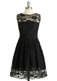 Cute dress for me, if it comes in other colors could be a great bridesmaid dress!