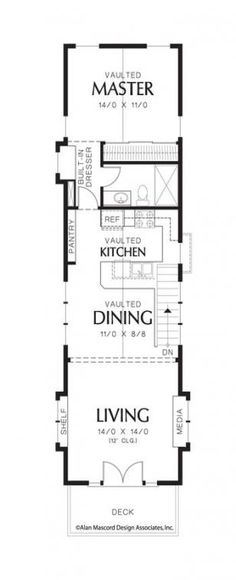 Trendy Home Design Kitchen Floor Plans 18 Ideas House Plans One Story, Best House Plans, Small Kitchen Floor Plans, Kitchen Small, Kitchen Ideas, Kitchen Tips, Stair Plan, Window Seat Kitchen, Tiny House Stairs