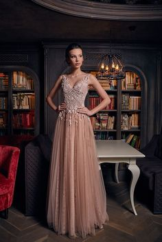 OKSANA MUKHA Evening collection 2018 1239-gown