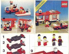 6364 Paramedic Unti - Instructions et catalogues LEGO bibliothèque Lego Club, Lego Group, Lego Instructions, Cool Lego, Legoland, Lego Sets, Legos, 1, Kids Rugs