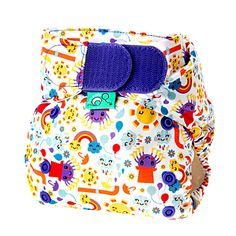 TotsBots new and improved EasyFits V4 have a super absorbent cotton/bamboo/minky interior, insert and snap-in booster.  And the hook and loop is stronger and more durable then any hook and loop I've used.  The perfect all-in-one diaper!