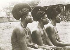 Femmes Tikar. [1919/1939] Afrique ; Cameroun.