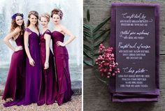 Make your fall wedding a vibrant affair with these 12 eye-popping color palettes.