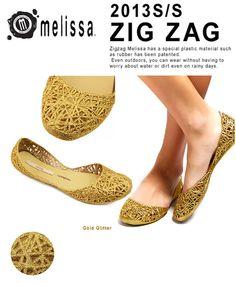 【Melissa】メリッサ Campana Zig Zag   #シータ・ミュー