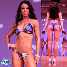 Crystal Leaves Bikini Design. Perfect for WBFF, IFBB and NPC.