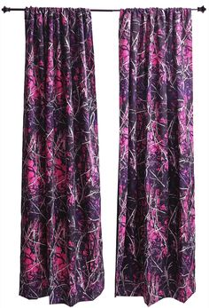 Want to add a little color to your home? Some #MuddyGirl #Curtains will brighten up any room in the house! #Drapes #Camo #PinkCamo