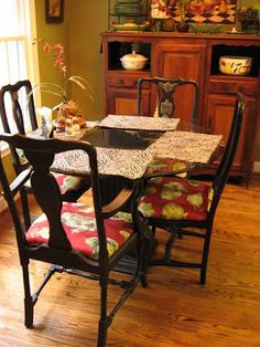 painting furniture black, painting furniture | Southern Hospitality