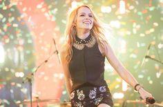 Bridget Mendler performing on X Factor USA
