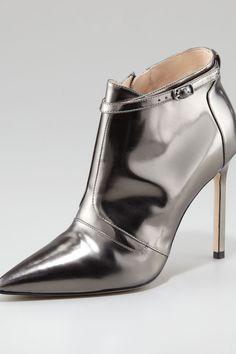 Istbofac Gun Metal Ankle Boot