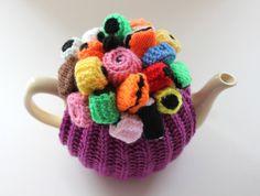 OOAK Liquorice Allsorts - Handmade Tea Cosy by Tafferty Designs - Size Medium…