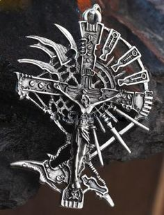 Designer Inspired - Trinity Blood pendant $28    #DanCamacho.com #Design