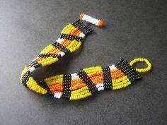 Candy Corn Bracelet by The Sage's Cupboard, via Flickr
