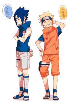 naruto x sasuke cute Naruto Vs Sasuke, Anime Naruto, Naruto Team 7, Kakashi Sensei, Naruto Sasuke Sakura, Wallpaper Naruto Shippuden, Naruto Shippuden Anime, Sasunaru, Narusasu