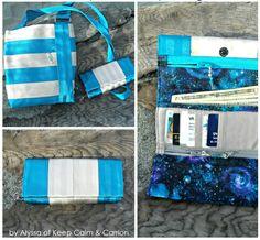 Seat Belt Series: Tri-Fold Wallet Sewing Pattern | cozy nest design