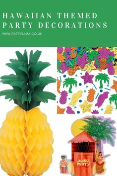 Create a Hawaiian themed party to celebrate your special day or birthday with our range of table decorations including paper pineapples. mini tiki bars and confetti. Lighted Centerpieces, Party Table Decorations, Party Themes, Party Ideas, Tiki Bars, Baby Pearls, Special Day, Confetti, Hawaiian