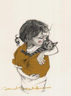 sandra caleffi illustration #biblioteques_UVEG