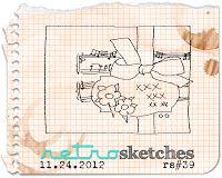 retro sketches : a challenge: RETROsketches' Archive...