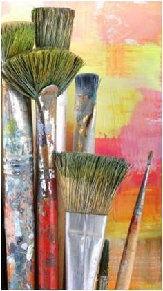 119 Free Do It Yourself Beginner Painting Lessons - Use these free, online demonstrations to teach yourself how to paint with oils, acrylics and watercolors.