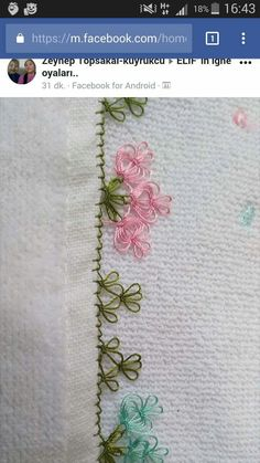 This Pin was discovered by Hkn Crochet Unique, Needle Lace, Bargello, Tatting, Needlework, Diy And Crafts, Embroidery, Drawings, Beautiful
