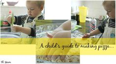 A child's guide to making pizza and dough balls...