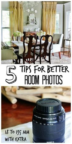 Blog Photography Tips | Photography Tips | Blogging Tips | Five Tips for Taking Better Photos of a Room - Thistlewood Farm