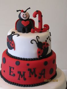 Great Idea for Lillybugs 5th Birthday cake