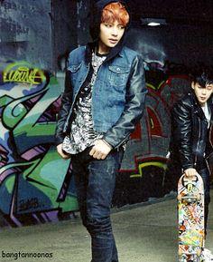 bts, jimin, v (taehyung) Bts Skool Luv Affair, Popular Bands, Mature Fashion, Seokjin, Hoseok, Photo Series, Favim, V Taehyung, Bts Photo