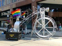 Big bike at WorldPride Toronto