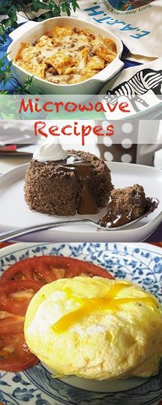 Learn some recipes to make gourmet style meals in the microwave!
