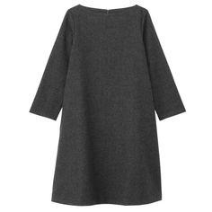 Women Wool Gauze DressL6AC444