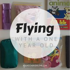 Our experiences flying with a one year old