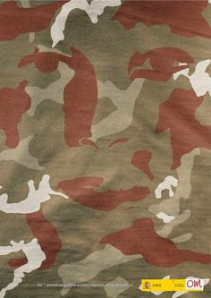 Spanish Ministry of Defense: Camouflage Australian Defence Force, Creative Advertising, Visual Communication, Ministry, Camouflage, Spanish, Military Camouflage, Spanish Language, Spain