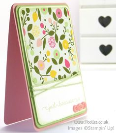 Stampin' Up! UK Demonstrator Pootles - All Abloom Just Because....