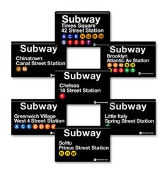 New York Subway - Plan on having a NY themed classroom (teaching business/ marketing) changing the station names to reflect key terms.