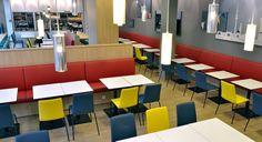 Frühstücksraum des B&B Hotels Hamburg-Nord